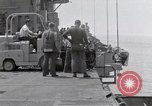 Image of Cleanup after USS Forrestal fire Gulf of Tonkin Vietnam, 1967, second 20 stock footage video 65675031060
