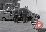 Image of Cleanup after USS Forrestal fire Gulf of Tonkin Vietnam, 1967, second 23 stock footage video 65675031060