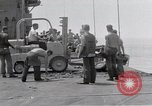 Image of Cleanup after USS Forrestal fire Gulf of Tonkin Vietnam, 1967, second 28 stock footage video 65675031060