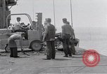 Image of Cleanup after USS Forrestal fire Gulf of Tonkin Vietnam, 1967, second 29 stock footage video 65675031060