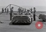 Image of Cleanup after USS Forrestal fire Gulf of Tonkin Vietnam, 1967, second 50 stock footage video 65675031060