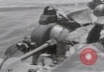 Image of USS Forrestal damage from fire Gulf of Tonkin Vietnam, 1967, second 26 stock footage video 65675031063