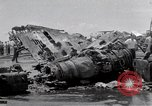 Image of USS Forrestal damage from fire Gulf of Tonkin Vietnam, 1967, second 37 stock footage video 65675031063