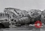 Image of USS Forrestal damage from fire Gulf of Tonkin Vietnam, 1967, second 39 stock footage video 65675031063