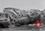 Image of USS Forrestal damage from fire Gulf of Tonkin Vietnam, 1967, second 40 stock footage video 65675031063