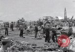 Image of USS Forrestal damage from fire Gulf of Tonkin Vietnam, 1967, second 55 stock footage video 65675031063
