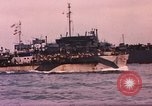 Image of Allied ship convoy United Kingdom, 1944, second 22 stock footage video 65675031066