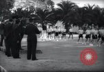 Image of Italian celebration of Spanish Day Tangier Morocco, 1938, second 25 stock footage video 65675031069
