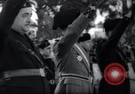 Image of Italian celebration of Spanish Day Tangier Morocco, 1938, second 40 stock footage video 65675031069