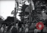 Image of Italian celebration of Spanish Day Tangier Morocco, 1938, second 50 stock footage video 65675031069