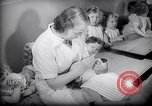 Image of Jewish Society nursery Paris France, 1938, second 18 stock footage video 65675031078