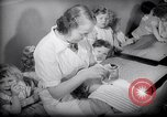 Image of Jewish Society nursery Paris France, 1938, second 22 stock footage video 65675031078