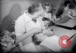 Image of Jewish Society nursery Paris France, 1938, second 25 stock footage video 65675031078