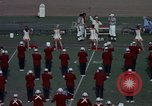 Image of Stanford University Band and Football game Palo Alto California USA, 1976, second 23 stock footage video 65675031127