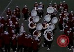 Image of Stanford University Band and Football game Palo Alto California USA, 1976, second 31 stock footage video 65675031127