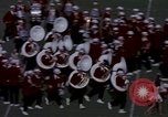 Image of Stanford University Band and Football game Palo Alto California USA, 1976, second 32 stock footage video 65675031127