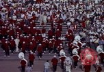 Image of Stanford University Band and Football game Palo Alto California USA, 1976, second 58 stock footage video 65675031127