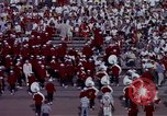 Image of Stanford University Band and Football game Palo Alto California USA, 1976, second 59 stock footage video 65675031127