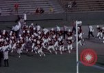 Image of Stanford University Band and Football game Palo Alto California USA, 1976, second 62 stock footage video 65675031127