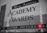 Image of Sidney Poitier first African American recipient of Oscar Award Hollywood Los Angeles California USA, 1964, second 12 stock footage video 65675031136