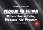 Image of President Lyndon B Johnson Baltimore Maryland USA, 1965, second 4 stock footage video 65675031140
