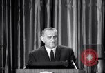 Image of President Lyndon B Johnson Baltimore Maryland USA, 1965, second 7 stock footage video 65675031140