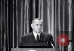 Image of President Lyndon B Johnson Baltimore Maryland USA, 1965, second 9 stock footage video 65675031140