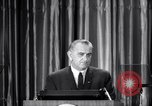 Image of President Lyndon B Johnson Baltimore Maryland USA, 1965, second 10 stock footage video 65675031140