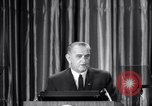 Image of President Lyndon B Johnson Baltimore Maryland USA, 1965, second 12 stock footage video 65675031140