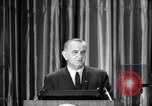 Image of President Lyndon B Johnson Baltimore Maryland USA, 1965, second 17 stock footage video 65675031140