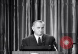Image of President Lyndon B Johnson Baltimore Maryland USA, 1965, second 20 stock footage video 65675031140
