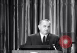 Image of President Lyndon B Johnson Baltimore Maryland USA, 1965, second 22 stock footage video 65675031140