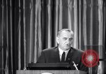 Image of President Lyndon B Johnson Baltimore Maryland USA, 1965, second 23 stock footage video 65675031140