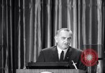 Image of President Lyndon B Johnson Baltimore Maryland USA, 1965, second 24 stock footage video 65675031140