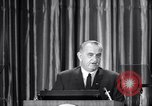 Image of President Lyndon B Johnson Baltimore Maryland USA, 1965, second 25 stock footage video 65675031140