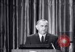 Image of President Lyndon B Johnson Baltimore Maryland USA, 1965, second 26 stock footage video 65675031140