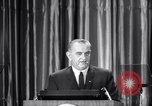 Image of President Lyndon B Johnson Baltimore Maryland USA, 1965, second 27 stock footage video 65675031140