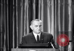 Image of President Lyndon B Johnson Baltimore Maryland USA, 1965, second 29 stock footage video 65675031140