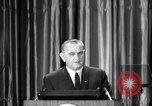 Image of President Lyndon B Johnson Baltimore Maryland USA, 1965, second 34 stock footage video 65675031140