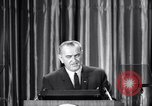 Image of President Lyndon B Johnson Baltimore Maryland USA, 1965, second 37 stock footage video 65675031140