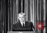 Image of President Lyndon B Johnson Baltimore Maryland USA, 1965, second 38 stock footage video 65675031140