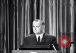 Image of President Lyndon B Johnson Baltimore Maryland USA, 1965, second 39 stock footage video 65675031140