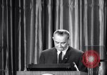 Image of President Lyndon B Johnson Baltimore Maryland USA, 1965, second 40 stock footage video 65675031140