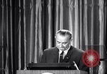 Image of President Lyndon B Johnson Baltimore Maryland USA, 1965, second 41 stock footage video 65675031140