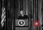 Image of President Lyndon B Johnson Baltimore Maryland USA, 1965, second 48 stock footage video 65675031140