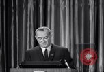 Image of President Lyndon B Johnson Baltimore Maryland USA, 1965, second 59 stock footage video 65675031140