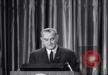 Image of President Lyndon B Johnson Baltimore Maryland USA, 1965, second 61 stock footage video 65675031140