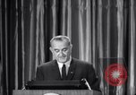 Image of President Lyndon B Johnson Baltimore Maryland USA, 1965, second 62 stock footage video 65675031140