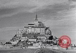 Image of Mont-Saint-Michel Normandy France, 1931, second 8 stock footage video 65675031148