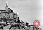 Image of Mont-Saint-Michel Normandy France, 1931, second 9 stock footage video 65675031148